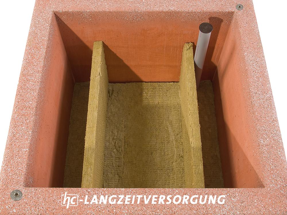hygrocare Betonpflanzgefäß mit Lagzeitversorgung