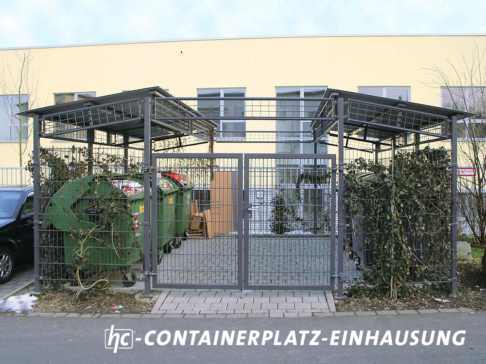 hygrocare Ranksysteme für Containerplatz-Einhausungen