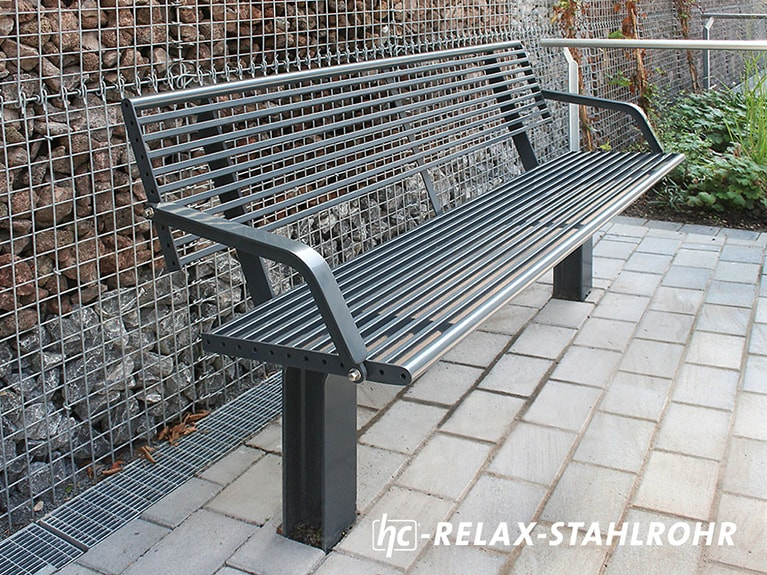 hygrocare Relax-Bank aus Stahlrohr